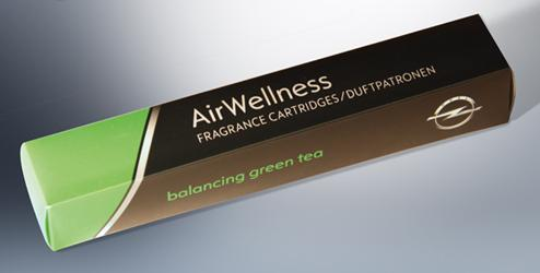 Cartridges, Balancing Green Tea