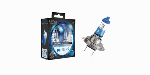 Philips ColorVision Halogen Bulb Kit, H7 - Blue Philips ColorVision Halogen Bulb Kit, H7 - Green Philips ColorVision Halogen Bulb Kit,