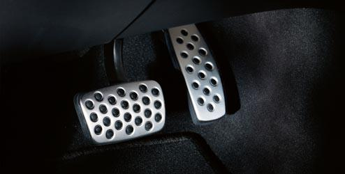 Line Stainless Steel Pedal Covers, Manual