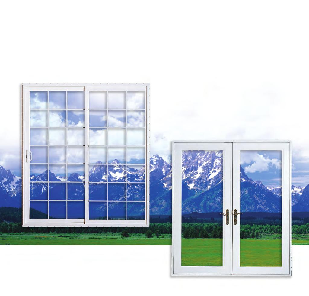 "A 1 7 2 S l i d i n g P a t i o D o o r Sturdy 4 1 2"" frame depth. 1"" glazing is standard. Triple glazing is available."