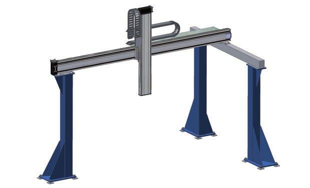 SNR gantry support legs SNR gantry support legs can be