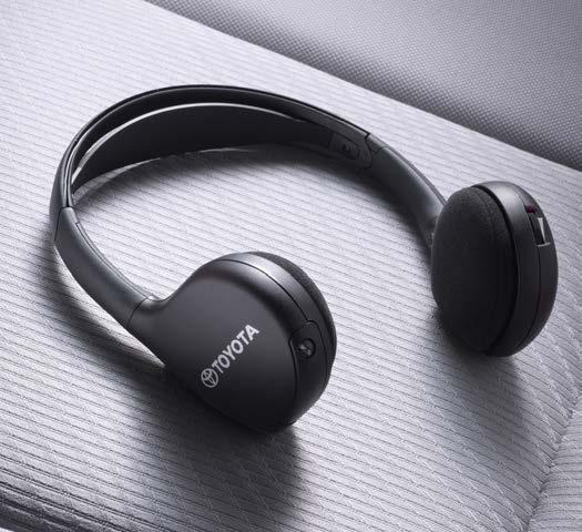 ELECTRONIC ACCESSORIES Wireless Headphones Add additional wireless headphones 5 to let multiple passengers enjoy a personalized experience.