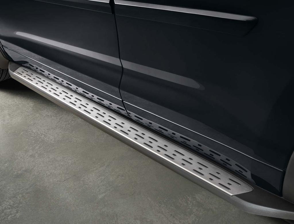 Running Boards Help provide easier access into the interior of your Highlander.