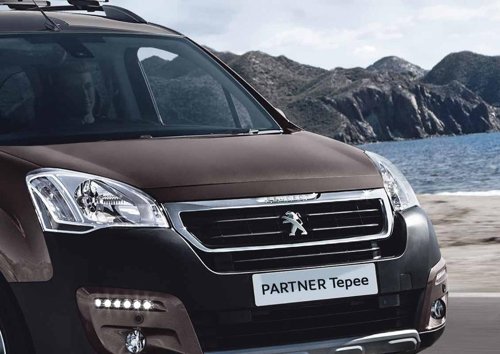 MAKE IT YOUR PARTNER TEPEE. PEUGEOT is pushing the boundaries of design with a host of accessories perfectly suited to your vehicle.