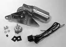 Wiper Motors & Parts ELECTRIC WIPER MOTORS 12 VOLT, 2 SPEED ELECTRIC WIPER MOTOR COMPLETE WITH WIRING & SWITCH