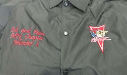 40th Anniversary Jackets Thanks to Rollie Pederson and Terry Ford!