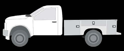 COMPARTMENT CONFIGURATIONS // 500 SERIES COMPARTMENTS The 500 Series Service Bodies feature a horizontal