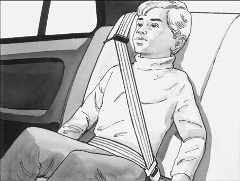 Safety Belt Pretensioners Your vehicle has safety belt pretensioners. Although you cannot see them, they are located on the retractor part of the safety belts for the driver and right front passenger.