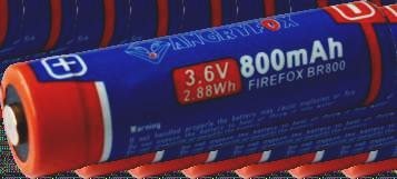 Firefox Br800 Firefox battery series is a new type of high capacity lithium     Safety vent Intelligent