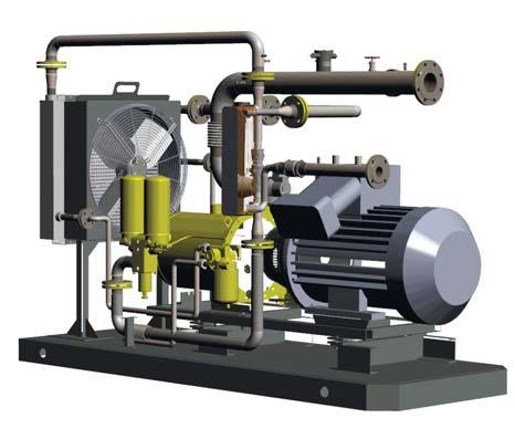 Reliable solution for handling various types of gas including wet gases and sour gases for microturbine power plants with power output range from 1000 kw to 2800 kw (5-14 Capstone C200 microturbines)