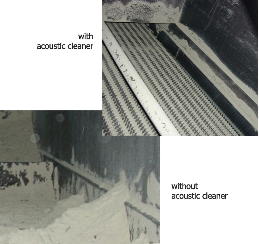 Why opt for acoustic cleaning?