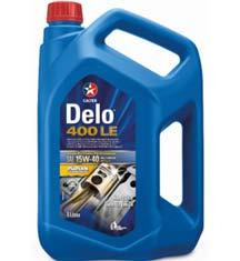 Delo 400LE Multigrade SAE 15W-40 (API CJ-4 & ACEA E9) Low SAPS formulation specifically designed for the latest low emission engines fitted with diesel particulate filters, but also those fitted with