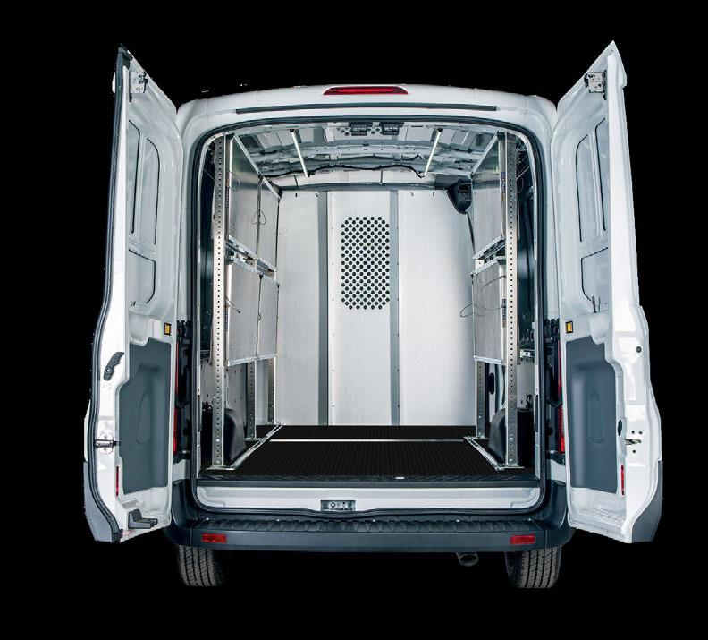 SAFETY PARTITIONS Crash tested safety partitions protect the