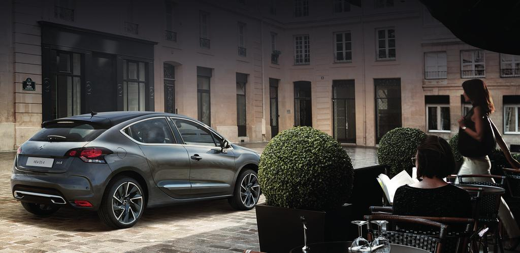 STYLE Whether you choose New DS 4 or DS 4 Crossback, there s no need to compromise