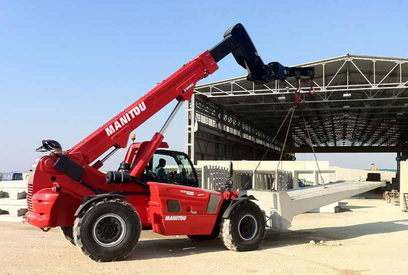 SUCCESS THROUGH IMAGINATIVE POWER MANITOU, the world s largest manufacturer of all-terrain material handling equipment, began its roots in a family tradition of innovation and imaginative power.