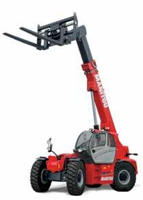 SUPERIOR STRENGTH The MANITOU Series heavy capacity telescopic handlers are designed to handle the most demanding jobs in the most extreme conditions.