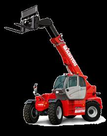 JSM JOYSTICK CONTROLS Machines are operated with the Manitou single joystick JSM (Joystick, Switch and Move) controls, where machine functions as well as
