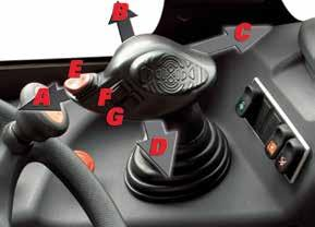 SERIES JSM CONTROLS The MANITOU exclusive Joystick Switch and Move (JSM) all-in-one joystick system allows safe, fatigue-free operation.