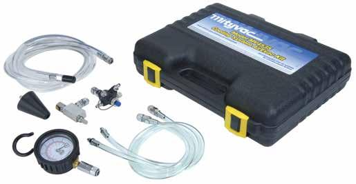 MV4535 Cooling System AirEvac Kit The Mityvac MV4535 Cooling System AirEvac Kit refills automotive cooling systems in minutes without trapping air that can cause overheating.