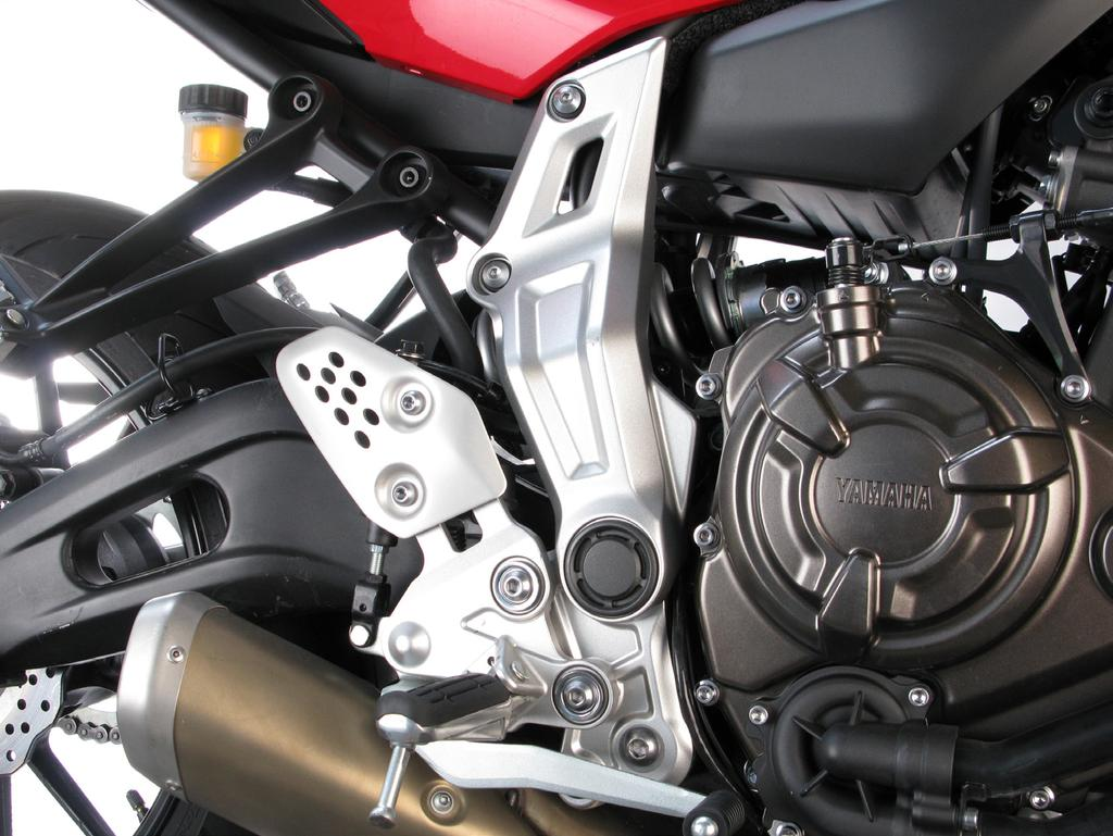 www.akrapovic.com REMOVAL OF STOCK EXHAUST SYSTEM: 1. 2. Put the motorcycle on a side stand, we recommend a racing stand.