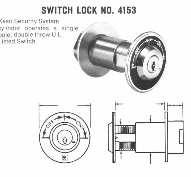 Padlocks, Utility Locks, & Switch Locks How to Order: Padlock No. F1-82-856 and F1-82-857 Same security as offered in other Keso Security System locks.