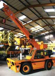 Those carrying out such work appear to be gradually rediscovering the fact that the pick & carry capability of an industrial crane is invaluable if the work - often carried out in very confined,