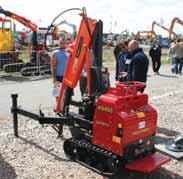 Until recently, the smallest Ormig crane had a capacity of 10 tonnes, but at SAIE exhibition late last year, the company returned to its original sized crane with the introduction of the 5.