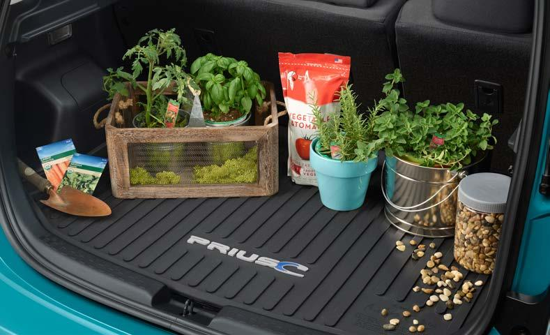 cargo tray allows you to carry a wide variety of items and helps protect your cargo area carpeting.