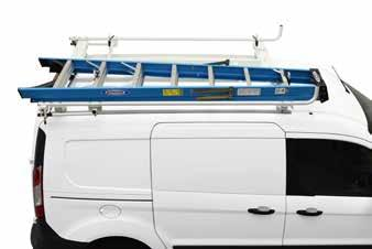 TRANSIT & TRANSIT CONNECT ROOF RACKS Clamp & Lock #08 & #08 Shown RETRACTABLE RATCHET STRAPS #080 Crossbar Rack #08 & #089 Shown Kargo Master Retractable Ratchet Straps #00 & #080 are an essential