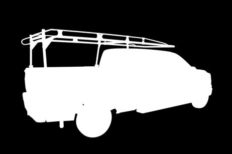 ) BLACK ONLY Part # Description #80000 All Full-Sized - For Trucks without Shell #0 Optional Extra Crossbar MEDIUM-DUTY STEEL CARGO RACK FOR MID-SIZED TRUCKS (-/8 DIA.