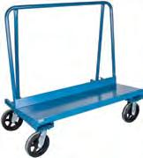 "or bar stock trucks with the functionality of a heavy-duty 2 shelf cart Constructed from structural foam with reinforced steel frame and side rails Overall Dimensions: 27"" W x 56 3/4"" L x 49"