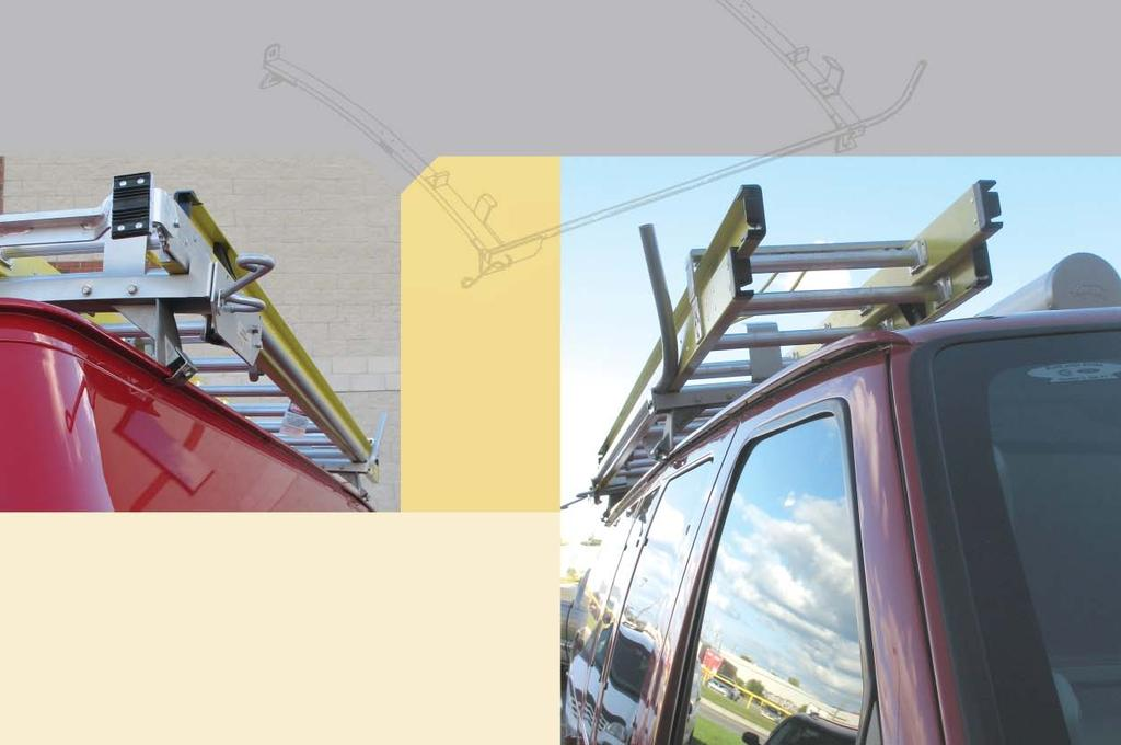 Ladder Racks A strong, lightweight solution for your ladders Benefits Strong Ranger ladder racks are built to stand the test of time.