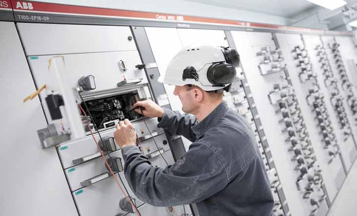 ABB Service Always close to the customers The MNS switchgears are not simple components but systems realized project by project according the customers specifications.