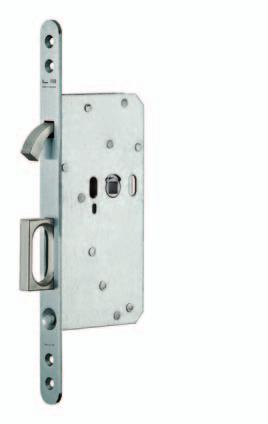 European Pocket Lock Series EPL Function Series EPL European Pocket Lock/Edge Pull As standard, the finger pull, button and deadbolt is always supplied in satin stainless finish.