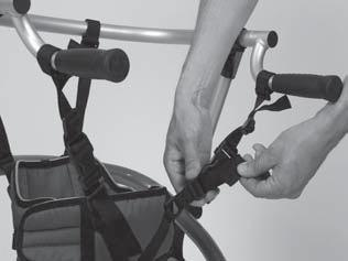 proceed as follows to mount the Sling Seat: INFORMATION Make sure to attach the straps without becoming