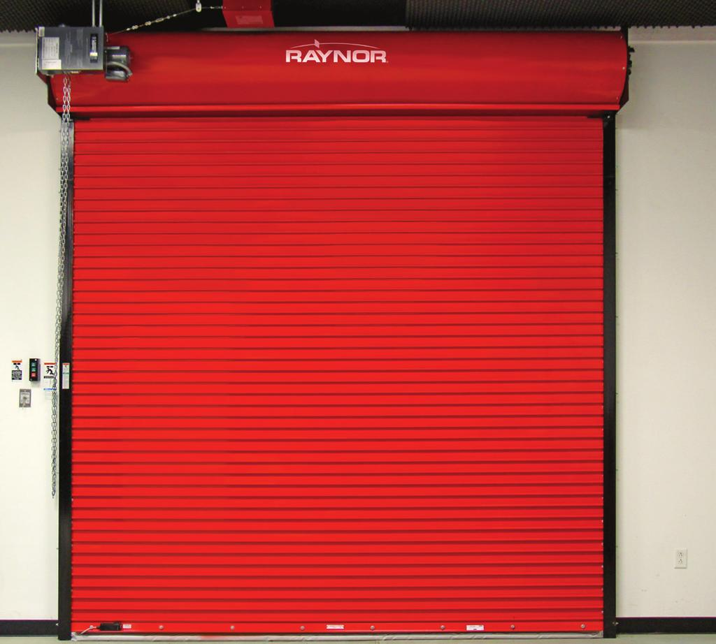 FireCoil FireCoil Design Applications Exterior openings that require a fire rating due to the proximity of their structures or combustible materials.