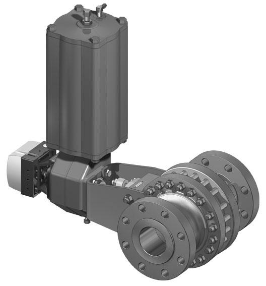 NELES TRUNNION MOUNTED BALL VALVE SERIES D Metso's Neles series D is a trunnion mounted ball valve for demanding on/off and control applications.