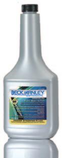 Power Steering Fluid Formulated to help noise reduction and improve power steering performance, Beck/Arnley s