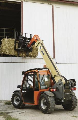 Experience Big Productivity with JLG Compact Telehandlers. When the job site s crowded, the last thing you need is another big machine to maneuver.