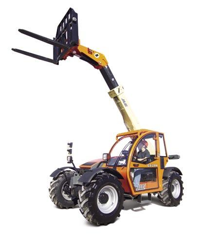 5 m) Model G5-19A With its compact size, agile design, and clear view cab, the JLG model G5-19A telehandler was built to boost productivity around crowded job sites.