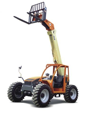 Capacity: 5,000 lb (2,268 kg) Max. Lift: 19 ft (5.8 m) Model G6-23A When space is limited nothing performs like the JLG model G6-23A compact telehandler.