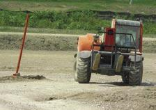 Steering and drive performance are tested on the limestone steering course and in fording our mud pit.