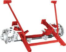 I Mustang II Style 1962-67 Bolt-On Subframe A Lowered Look and Superior Handling for Your Chevy II/Nova in 3 Easy Steps!