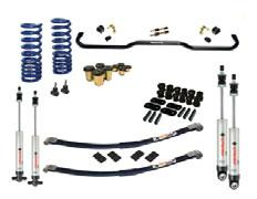 Suspension Systems 11169100 Direct bolt-on installation Designed to optimize handling with modern tires and suspensions Modular design improves tire clearance when turning Posi-Links offer positive
