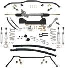 Steering, Suspension, Rear End & Brakes I Suspension Kits 1968-74 Four Stage Steering and Suspension Kits Included in all the pre-configured kits: Steeroids Rack and Pinion Conversion Kit for Power