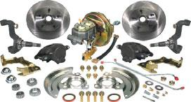 I Disc Brake Conversion Sets Save Time with our No Hassle Assembled Brake Sets! Busted knuckles and missing bolts are a thing of the past with CPP s new, pre-assembled brake conversion sets.