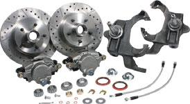 Disc Brake Conversion Sets 1968-74 Stock Spindle Disc Brake Conversion Set Improve the stopping power of your car while retaining your vehicle s stock ride height!
