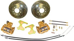 "Later model sets offer 12"" big brake upgrade for the rear. PB62633 1962-63 Front Disc Brake System with Booster Looking for a bolt on front disc brake solution for your 1962-63 Chevy II/Nova?"