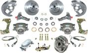 "Shipped overweight. Standard Sets Include: Master Cylinder Spindles Plain 11"" Rotors Cast Iron Plain Calipers And Pads 2."
