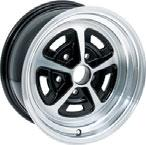 These wheels feature a gloss black and machined finish that is clear coated for a long lasting durable shine. Center caps and lug nuts sold separately. Note: *For rear wheel only.